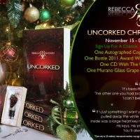 Uncorked by Rebecca Rohman Christmas Giveaway