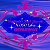 Stephanie's Book Reports 11,000 Likes Giveaway!!!!!!!!!