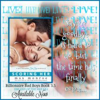 Scoring Her by Max Monroe Release Review + Giveaway