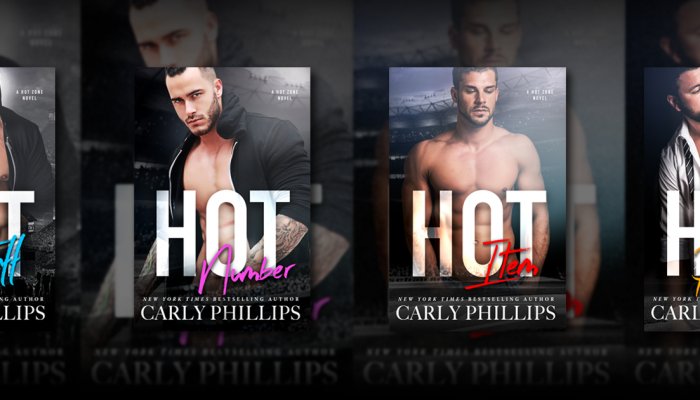 Hot Zone by Carly Phillips Cover Reveal